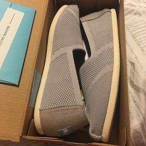 ae8e43ea8be Toms Shoes - Drizzle Grey Custom Knit Women s Classics.